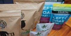 Custom Coffee Bags - Stand-Up Pouch Bag