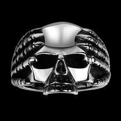 3.89$  Buy here - http://dimbt.justgood.pw/go.php?t=202405901 - Stainless Steel Claw Devil Skull Ring