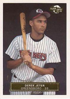 Derek Jeter baseball card.