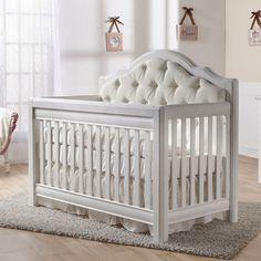 Pali+Cristallo+Convertible+Crib+in+Vintage+White