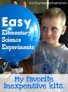 Science kits save me time and frustration during the elementary years.