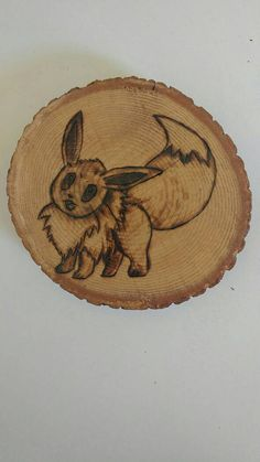 Check out this item in my Etsy shop https://www.etsy.com/ca/listing/463198616/eevee-pokemon-wood-burning