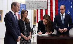 Wills and Kate sign book of condolence to pay their respects to the victims of Orlando nightclub killer | Daily Mail Online