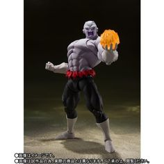 """Dragon Ball Super - Jiren (Final Battle) - S.H. Figuarts From Dragon Ball Super, Jiren makes an appearance into the S.H.Figuarts collection in his final battle form. It features new sculpting, including an expanded upper torso plus visible """"damage"""" enhance the drama, accentuated even further by effect parts that let you re-create his epic clash with Goku! The Dragon Ball Super Jiren Final Battle S.H.Figuarts Action Figure includes 3x optional head parts, 3x pairs of optional hands, and effect pa Dragon Ball Gt, Kid Chi Chi, Anime Figures, Action Figures, Dbz, Figuarts, Great Saiyaman, Kamen Rider Ooo, Naruto And Sasuke Wallpaper"""