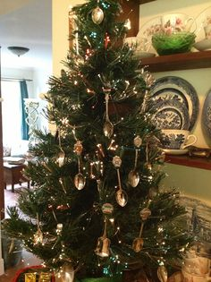 Miniature Kitchen Utensil Tree Decorations Uk
