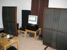 stacked quad esl 57 speakers - Google Search
