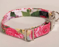 Traditional dog collar handmade in the UK by CrystalWolfCollars