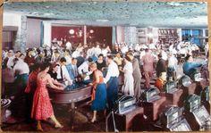 1950s Fabulous Flamingo Casino Interior Las Vegas