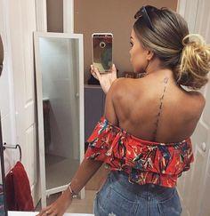 Selfies para chicas con tatuajes sexys