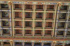 Carthage Cathedrale Saint Louis Plafond En Caissons De Bois Detail- Tunisie