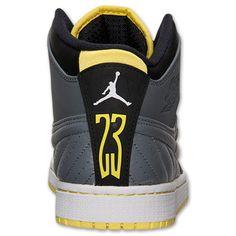 Men's Air Jordan 1 Retro '99 Basketball Shoes | Finish Line | Cool Grey/Vibrant Yellow/Black