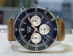 A look at the upcoming TAG Heuer Autavia.