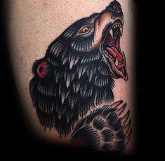 100 Bear Claw Tattoo Designs For Men - Sharp Ink Ideas Bear Paw Tattoos, Hand Tattoos, Sleeve Tattoos, Claw Tattoo, Type Illustration, Bear Claws, Tattoo Designs Men, Ink Art, Bears
