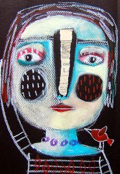 Il·lustracions de Magaly Ohika: sentiments i colors de primavera, bellesa en femení