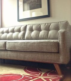 Taylor Sofa Thrive Furniture In Expectation Grey Mid Century Living Room