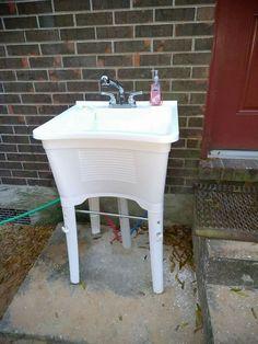 Outdoor Sink installation