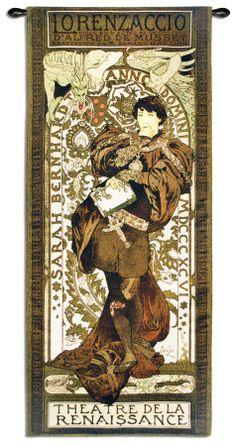 Tapestry Alphonse Mucha