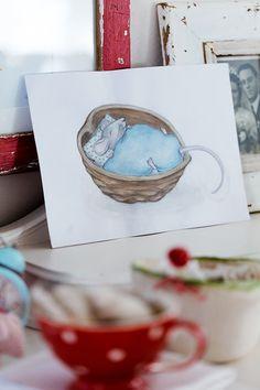 "acufactum - ""komm, lieber Advent"", Michèle Brunnmeier | acufactum 2016 - Illustration/Aquarelle: Madeleine Brunnmeier"