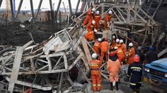 #WorkPlaceSafety: Over 40 killed as #Chinese construction site collapses   Dozens of people were killed in a scaffolding collapse Thursday morning at a construction site in the eastern Chinese province of Jiangxi state media reported. A work platform at a power plant cooling tower being built in the city of Fengcheng came tumbling down at about 7:30 a.m. local time an official with the local Work Safety Administration said by telephone. He put the confirmed death toll at 22 but the official…