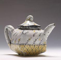 wall paper teapot by JosieJurczenia, via Flickr