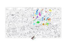 Occupez vos #enfants des heures avec ce #coloriage géant Shop & Fun