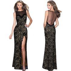 Split Formal Prom Dress