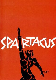 Saul Bass poster for Spartacus (1960). #design #designhistory #graphic #graphicdesign #minimal #minimalism #modern #modernism #americandesign #illustration #film #cinema #art