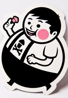 Johnny Cupcakes - Big Kid Sticker