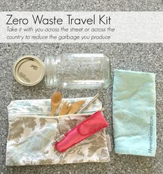 Taking a trip while attempting zero waste? Check out my zero waste travel tips. -- MeredithTested.com