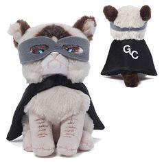 Hab u seed da Grumpy Cat Superhero 5-Inch Plush?