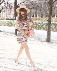 Afternoon strolls wearing @zimmermann_ dress Mini C de @Cartier handbag   Outfit…