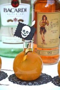 Halloween Shots - Pirate Bomb!