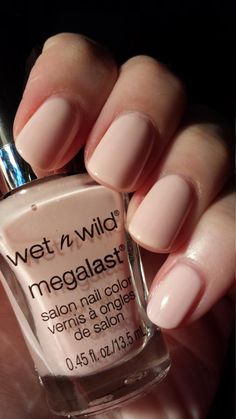 Wet N Wild Megalast - Sugar Coat. This is a nice pinky nude. I like these polishes! They hold up really well.