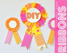 Make a ribbon for a winner.   56 Adorable Ways To Decorate With Washi Tape