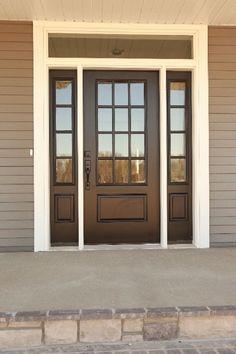 Farmhouse exterior doors most stunning farmhouse front door design ideas modern farmhouse front door colors . Front Doors With Windows, The Doors, White Front Doors, Front Door With Glass, Black Windows, Front Door Design, Front Door Colors, Exterior Front Doors, Exterior Fiberglass Doors