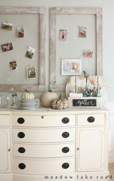Rustic Pumpkin Stand by Meadow Lake Road, Fall Decor Inspiration. Stunning homes decorated for Fall.  Lots of pictures full of ideas.