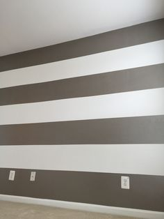 Finish product - accent wall for nursery