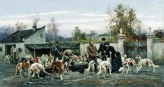 ...великих мастеров живописи: Карла Брюлова, Виктора Васнецова, Вельца Иога...
