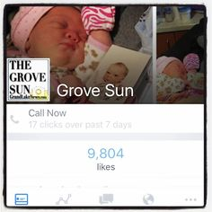 More than 200 likes since Dec. 30. Look out 10000. Here we come. #lifeofaneditor #socialmedianerd #grovesun