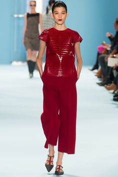 Carolina Herrera - Fall 2015 Ready-to-Wear - Look 23 of 47  - reminds me so much of the new Butterick Lissette pattern - 6183!