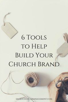 6 Tools to Help Build Your Church Brand Churches do a lot of great things, but very often people don't even know about it. This is why churches need to think about how to make people aware of what they do. Church Office, My Church, Kids Church, Church Ideas, Church Stage, Church Outreach, Church Fellowship, Church Ministry, Kids Ministry