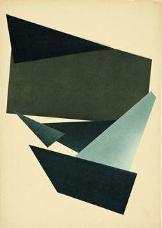 KATJA STRUNZ Untitled, 2006 Framed collage, 51 x 41 cm