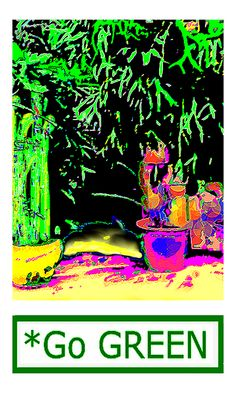 Staghorn Fern Go Green Jgibney The Museum Fineartamerica Gifts Print by jGibney The MUSEUM Artist Series jGibney, jGibney The MUSEUM, gib, gibney, jgibney,Gibney, jGibney,  ---SEE EVERYTHING HERE--->>> http://themuseum.host56.com/themuseum.htm, http://www.zazzle.com/the_museum/products, http://www.zazzle.com/mbr/238948309450180796, http://www.zazzle.com/The_MUSEUM*, jGibney/The MUSEUM Zazzle Gifts <<<---