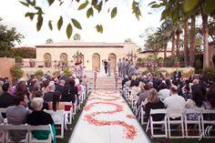 Everyone, and everything, in place. Phoenix/Scottsdale Wedding venue  www.royalpalmsresortandspa.com