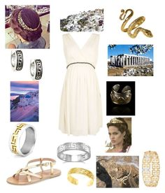 """""""greek  weakened"""" by charlyebarley ❤ liked on Polyvore featuring Topshop, Ancient Greek Sandals, West Coast Jewelry, Sterling Essentials and BillyTheTree"""