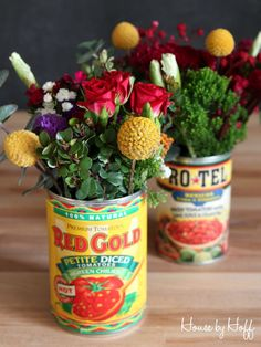 Celebrate Cinco de Mayo with this easy flower arrangement by April from House by Hoff @aprilhoff