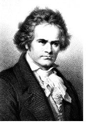 Hey Kids, Meet Ludwig Van Beethoven | Composer Biography - basic bio info, with easy sheet music of famous pieces.