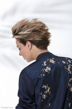 La coupe courte pour être tendance ✨ #coiffure #coupe #cheveux #hairstyle #haircut #hair #coiffandco #shine #wavy #brillance #rock