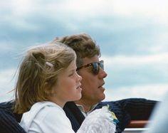 JFK + Caroline Kennedy