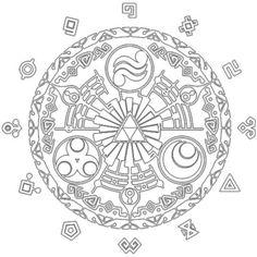 legend of zelda twilight princess zelda tattoo mirror of twilight gate - Google Search